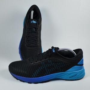 New Asics DynaFlyte 2 Men's Black Blue